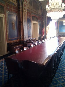 appropriations room