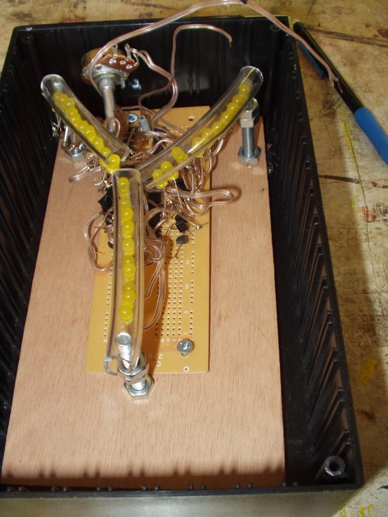 Flux Capacitor In Enclosure