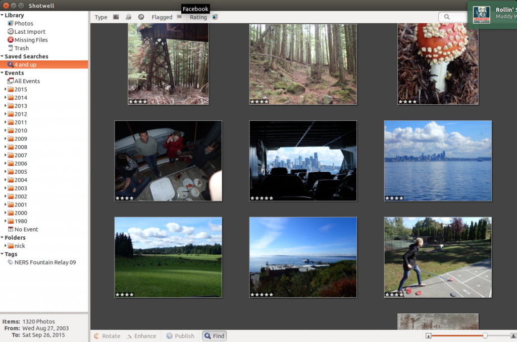 Shotwell photo manager