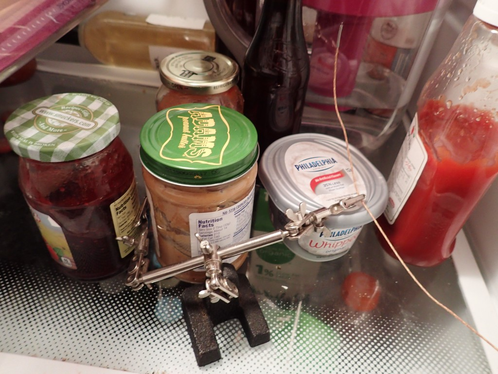 Thermocouple in fridge
