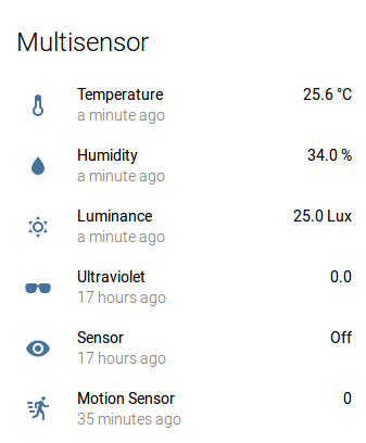 Home automation with Z-Wave, Home-Assistant, Aeon Multisensor, HUE