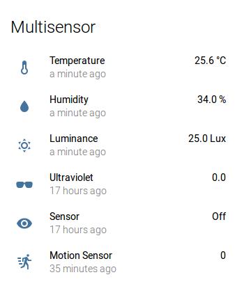 Home Assistant Sensors