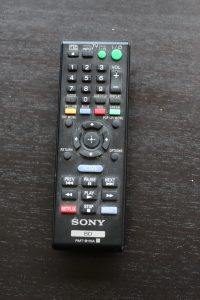 "My ""new"" home remote"