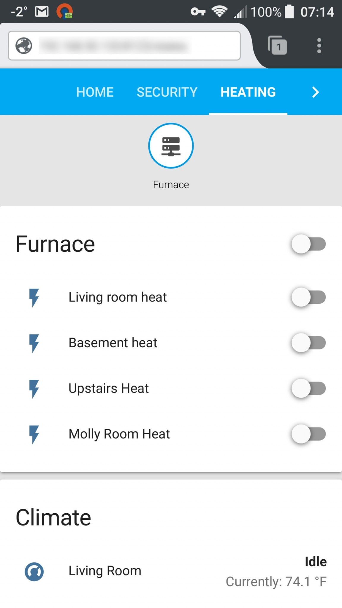 Enlighten your old furnace with a Raspberry Pi, Home