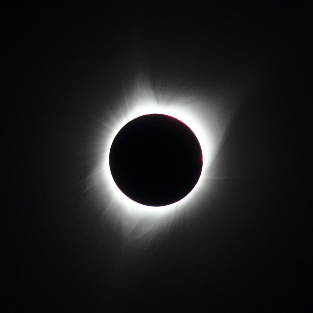 Totality on Nipple Butte