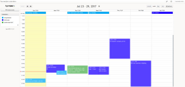 Host your own contacts and calendars and share them across devices