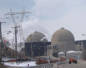 The DC Cook Nuclear Power Plant in Michigan