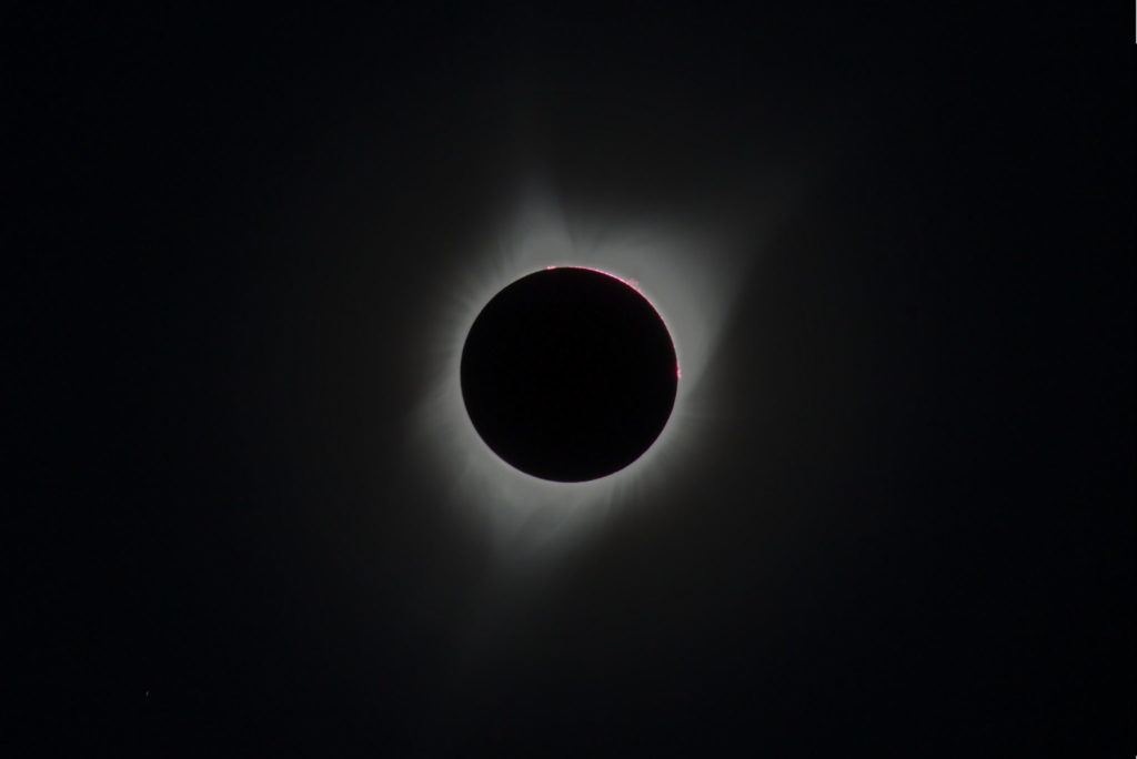 Picture of the eclipse